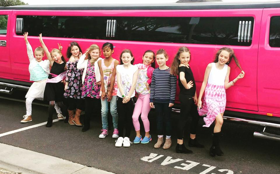 kids limo party melbourne
